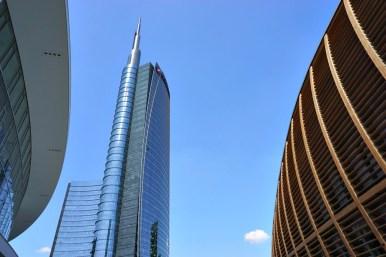New buildings in Milano