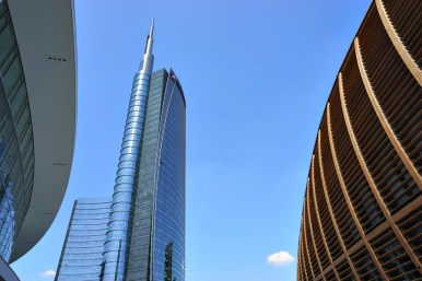 New buildings in Milano