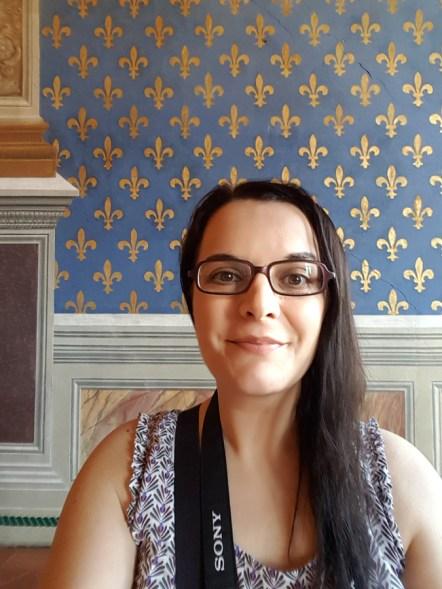 Me in Palazzo Vecchio