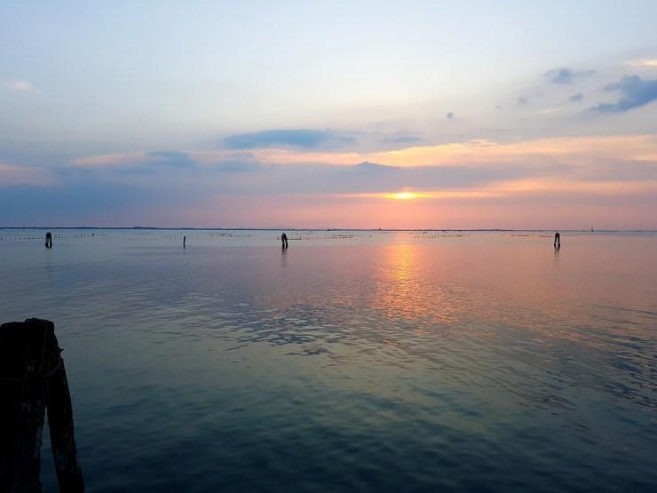 Sunset in Chioggia
