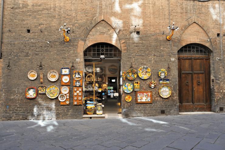 Colorful ceramics