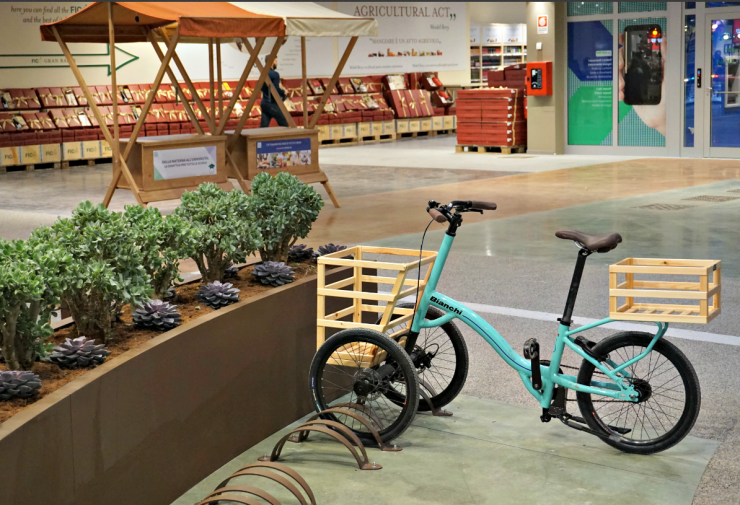 Fico Eataly World bike