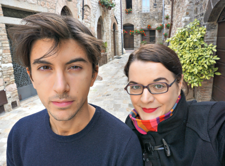 Filippo and I in Assisi