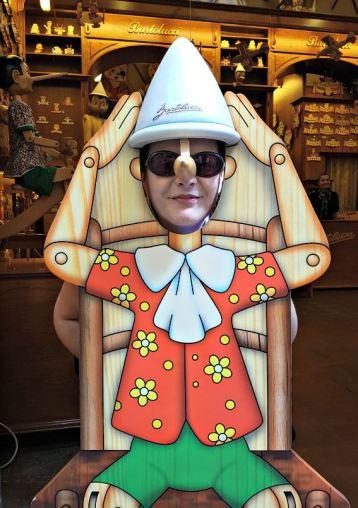 me as Pinocchio