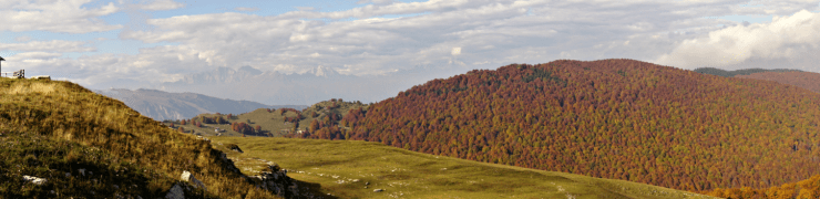 Panorama from Monte Pizzoc