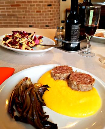 Radicchio based lunch