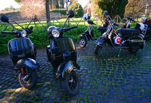 Vespa Tour in Rome