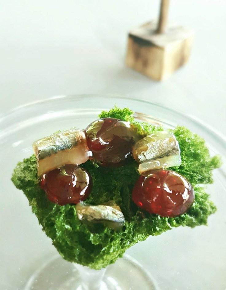 Appetizer at Venissa Restaurant