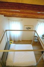 My bed at Casa Burano