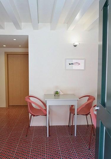 Breakfast room at Casa Burano