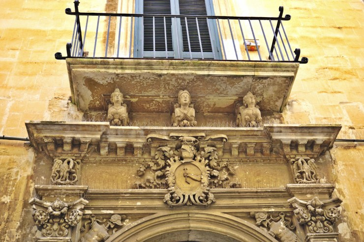 Detail in Lecce