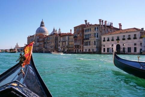 On a gondola