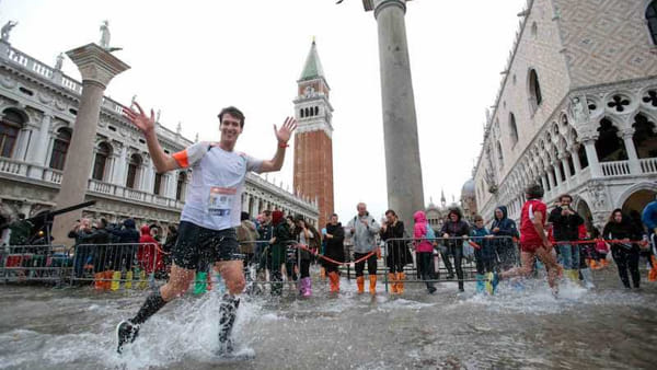 Venice marathon photo by Venezia Today