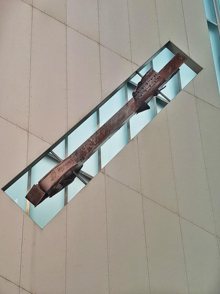 the World Trade Center beam