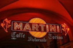Martini sign Turin