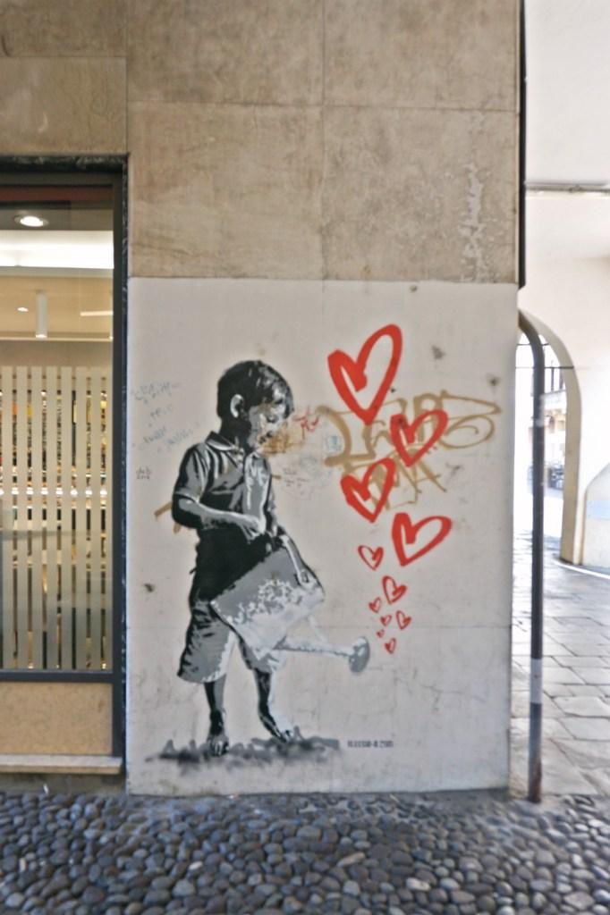 Street art in Padua