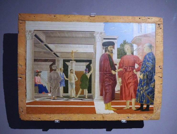 Flagellation by Piero della Francesca