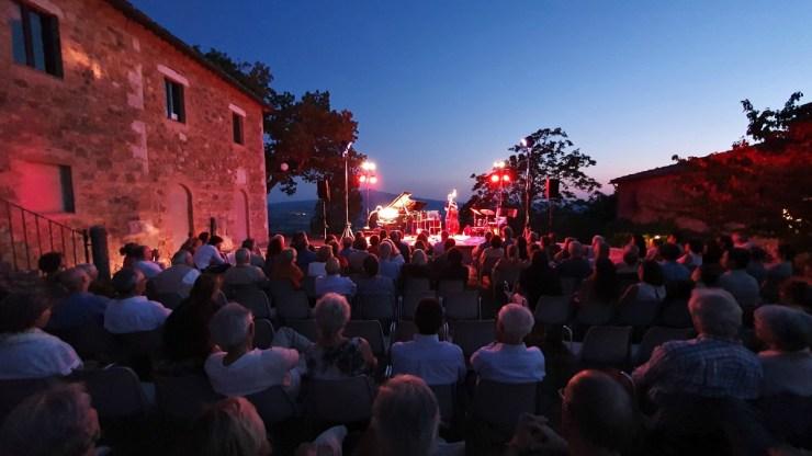 Concerto at Granaio di Castelluccio