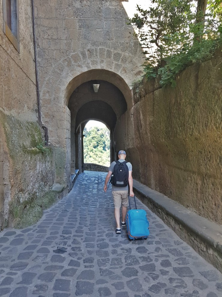 Leaving Civita