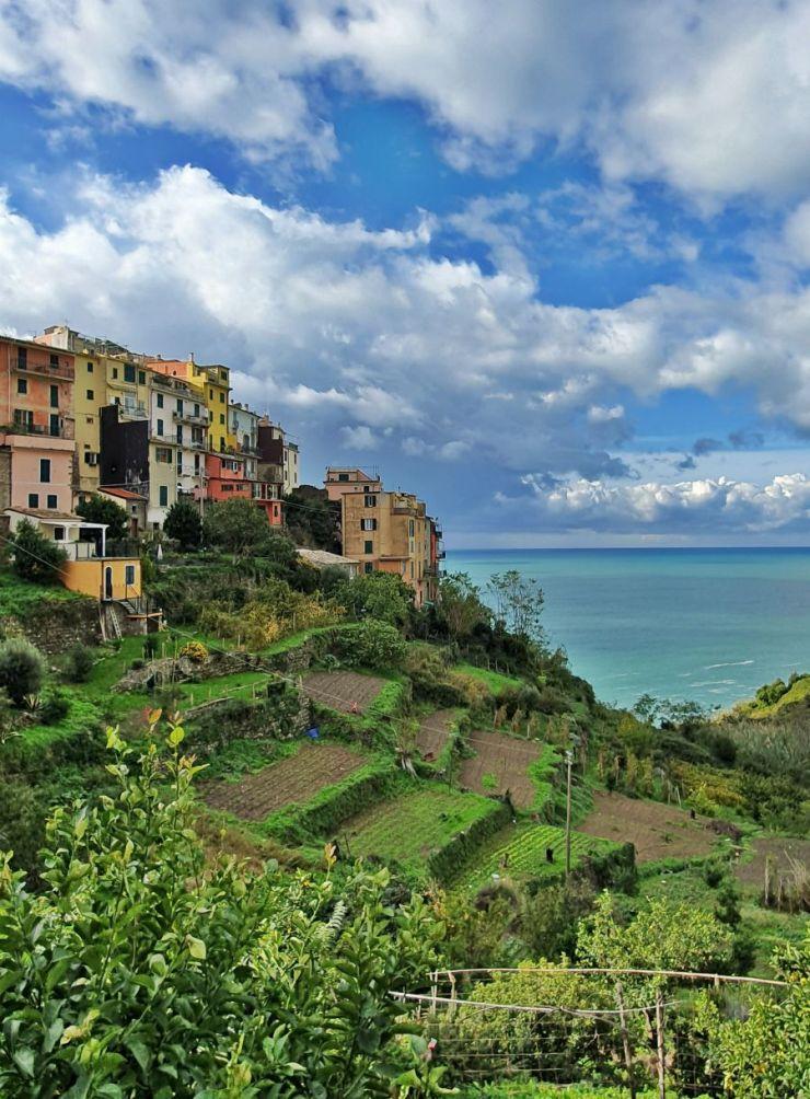 Corniglia, Cinque Terre in November