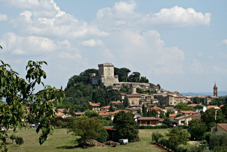 Sarteano: i più bei borghi della Toscana