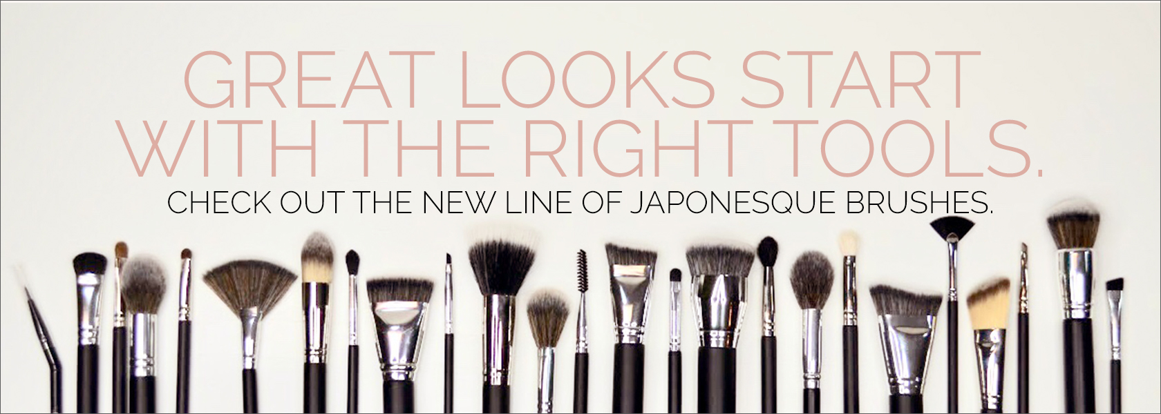 Shop JAPONESQUE Brushes at MCC