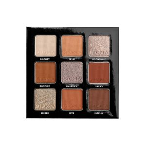 Sigma On The Go Spicy Eyeshadow Palette Open