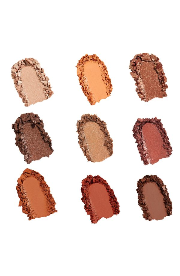 Sigma On The Go Fiery Palette Swatches