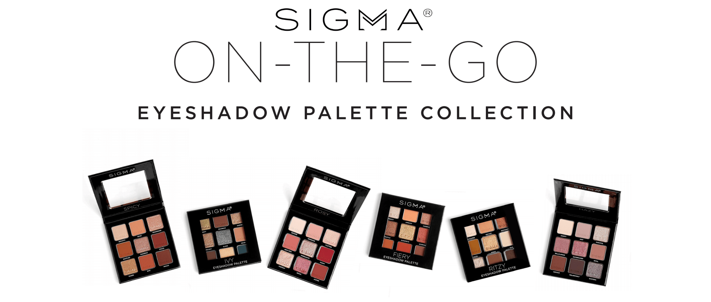 Sigma On the Go Palette at MyCosmeticCounter.com