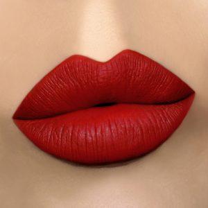 Gerard Cosmetics Immortal Matte Liquid Lipstick Medium Skin Swatch