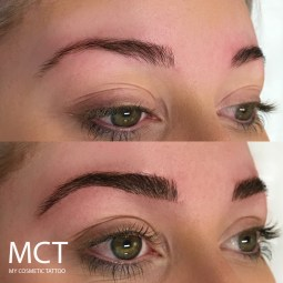 Hair Stroke Eyebrow tattoo