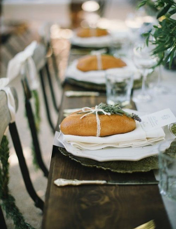 Lovely Tuscan inspired table settings | My Cosy Retreat