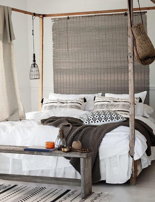 10 breathtaking rustic ethnic bedrooms   My Cosy Retreat