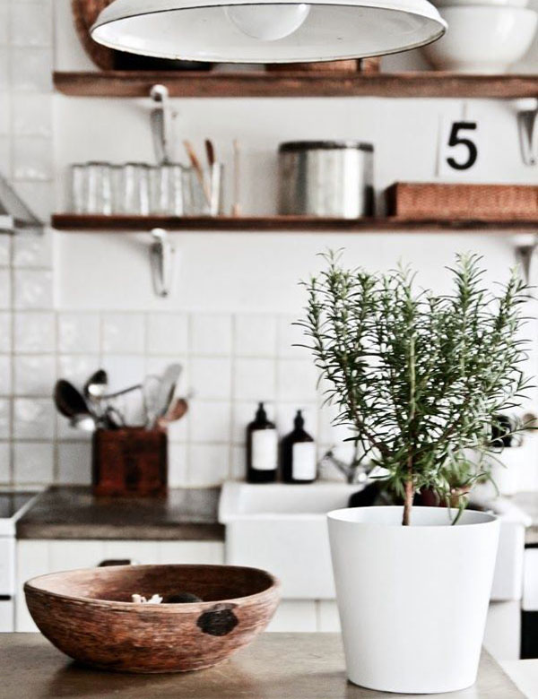 10 amazing rustic Scandinavian kitchens | My Cosy Retreat