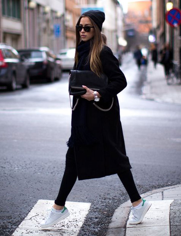 Easy autumn style: coat and sneakers   My Cosy Retreat