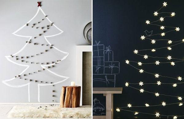 15 amazing alternative DIY Christmas trees   My Cosy Retreat