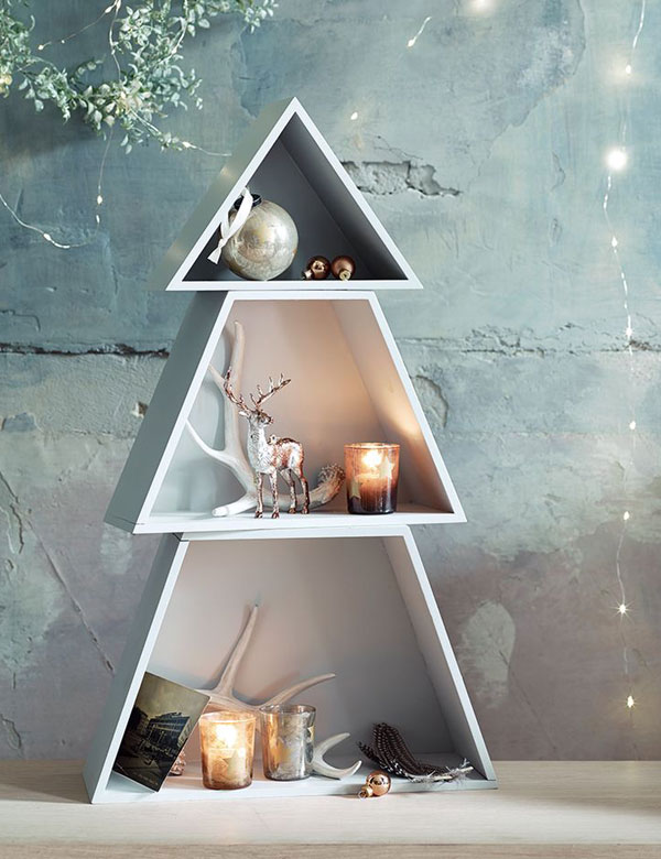 15 amazing alternative DIY Christmas trees | My Cosy Retreat
