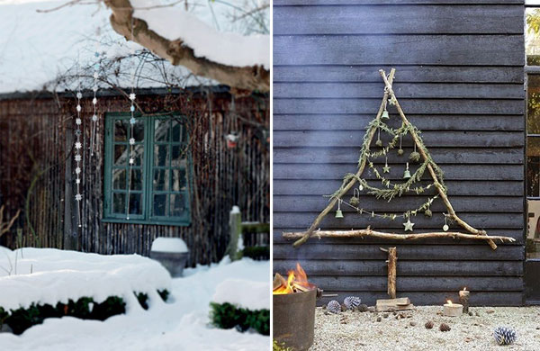 Beautiful outdoor Christmas decorations | My Cosy Retreat