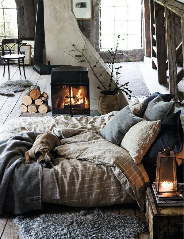 Let's cosy up by the fireplace | My Cosy Retreat