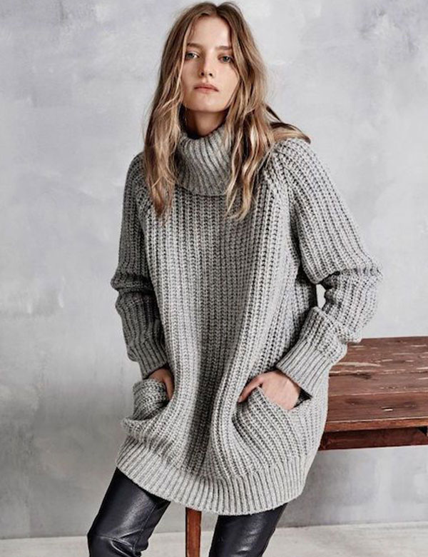 Beroemd Oversized knit sweaters inspiration @BL55