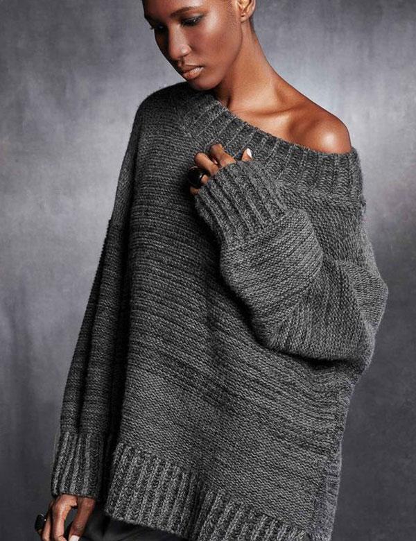 Winter mood: Oversized knit sweaters | My Cosy Retreat