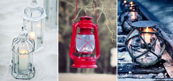 Winter outdoor lantern inspiration | My Cosy Retreat