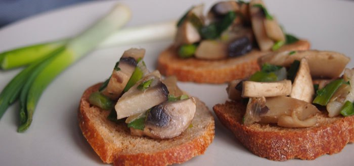 Mushroom bruschetta: so simple, so delicious! | My Cosy Retreat