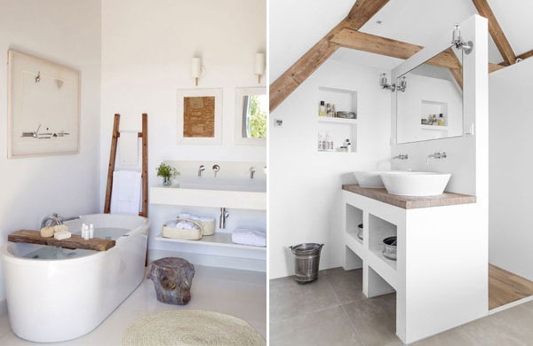 15 beautiful modern rustic bathrooms | My Cosy Retreat