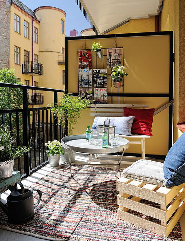 12 awesome designs for a small and cosy balcony | My Cosy Retreat