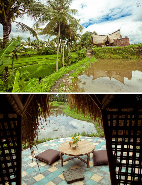 A dreamy bamboo eco cottage in the rice fields of Ubud, Bali | My Cosy Retreat