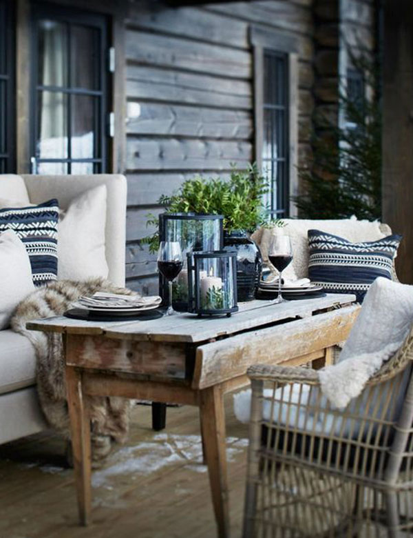 10 beautiful and cosy winter outdoor spaces | My Cosy Retreat