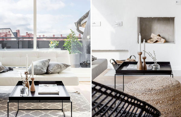 Elegant Scandinavian apartment with a charming outdoor space | My Cosy Retreat