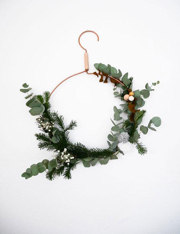 10 inspiring DIY natural Christmas wreaths   My Cosy Retreat
