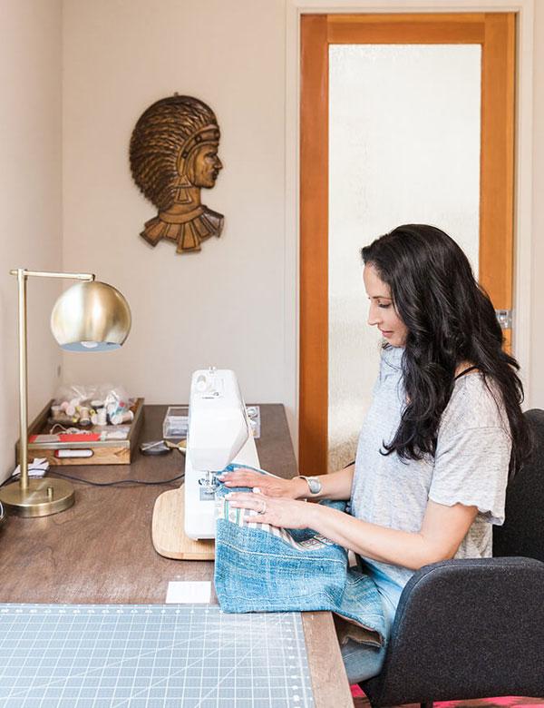 Designer Jody Olivier's peaceful bohemian bungalow | My Cosy Retreat